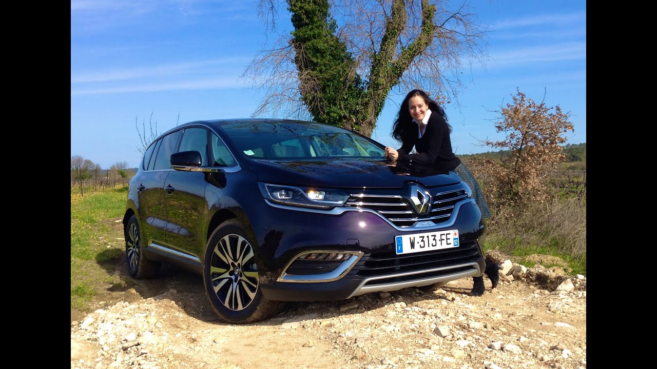 all new 2015 renault espace test drive youtube. Black Bedroom Furniture Sets. Home Design Ideas