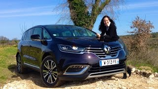 All New 2015 Renault Espace Test Drive