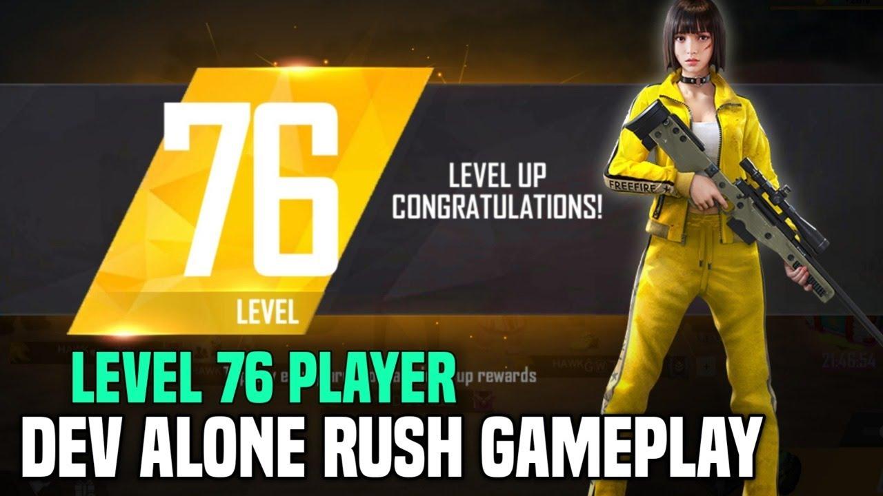 Free Fire Live - Dev Alone Rush Gameplay - Garena Free Fire
