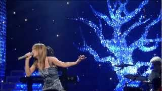 "Ayumi Hamasaki sang her song ""Hanabi"" beautifully and gracefully in..."