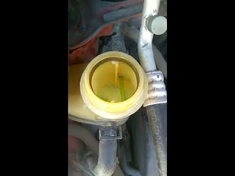 Промывка системы охлаждения Daewoo Matiz. Матиз...