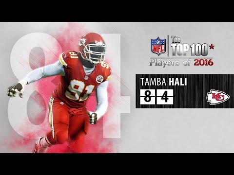 #84: Tamba Hali (LB, Chiefs) | Top 100 NFL Players of 2016