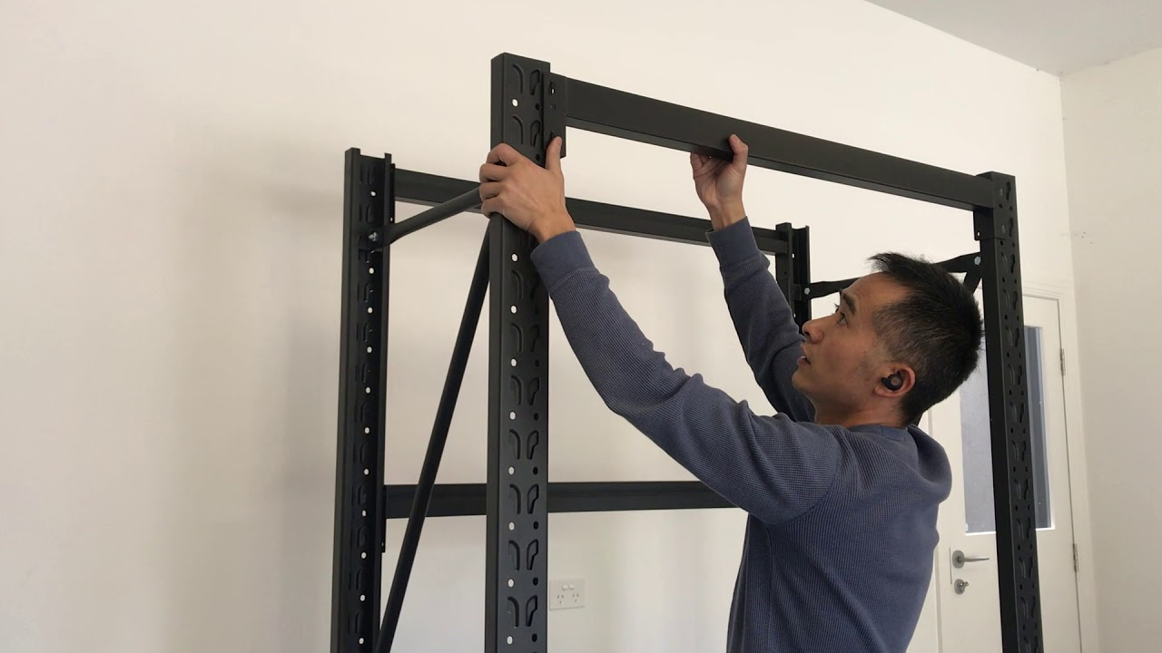 How to assemble the long span steel storage shelving shelves