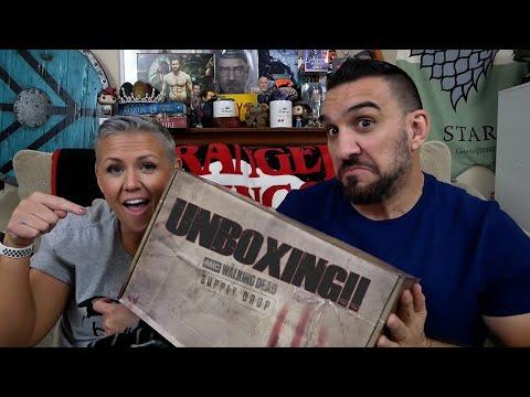 Download The Walking Dead Supply Drop - Walker Wonderland Edition UNBOXING!!