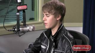 Justin Bieber Reveals The Story Behind His Ringtone On Radio Disney (extended Version)