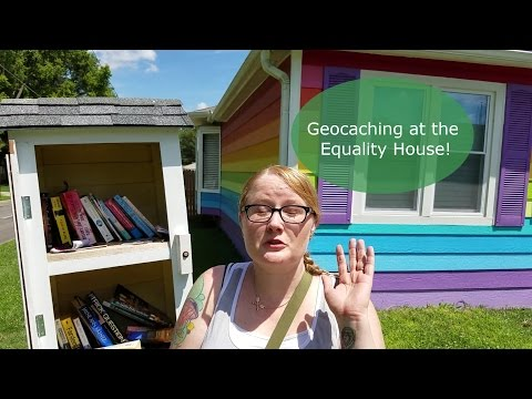 Equality House- Geocache Her Vlog Episode 6
