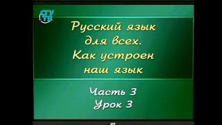 Русский язык для детей. Урок 3.3. Основа слова