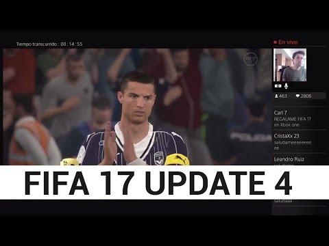 NUEVA ACTUALIZACIÓN FIFA 17 UPDATE 4 REVIEW