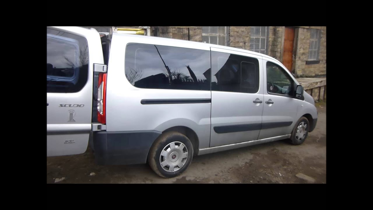 2010 fiat scudo combi interior 2 youtube. Black Bedroom Furniture Sets. Home Design Ideas