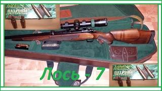 Охота «Лось 7» Отстрел разных патрон