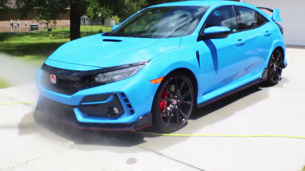 2020 Type R Boost Blue Youtube