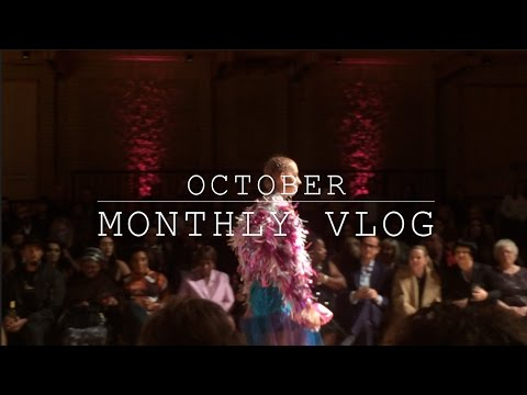 October Monthly Vlog | A whole lot of Fashion