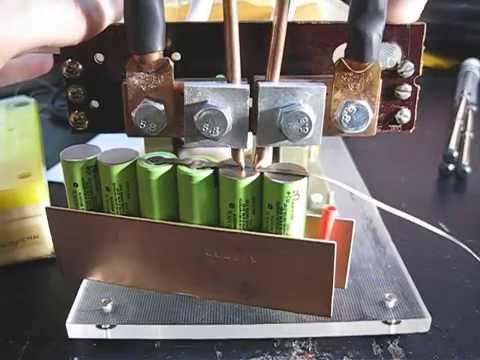 Как сделать точечную сварку на аккумуляторах 905