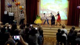 сказка ' Репка на новый лад' - сюрприз от учителей. (очень тихий звук)