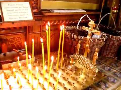 Как горит восковая свеча
