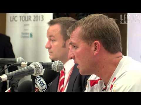 Brendan's Jakarta press chat || اول مؤتمر لبراندن في جاكرتا HD