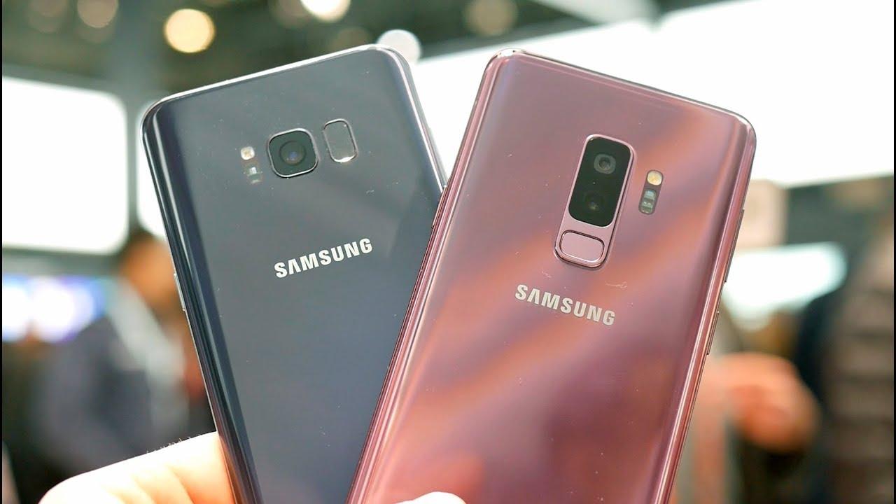 diferencias de samsung s8 y s9