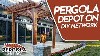 Pergola Depot On Extra Yardage On Diy Network