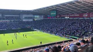 Cardiff City Fans - Cardiff Vs Liverpool 21-04-2019