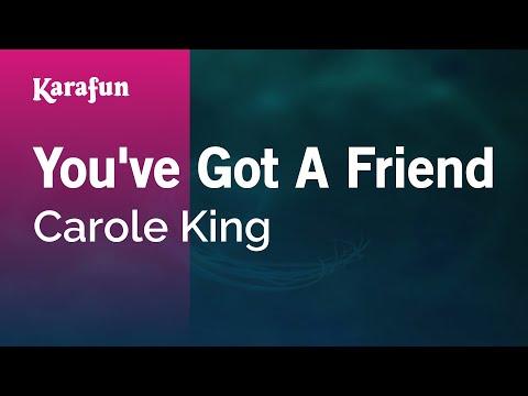 Karaoke You've Got A Friend - Carole King *