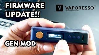 Update Firmware Vaporesso Gęn Mod to Gen S!! By DikwanVape
