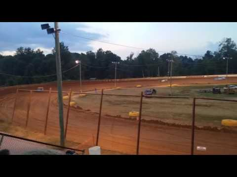Ponderosa Speedway 7-23-16 Super late models hot laps #2