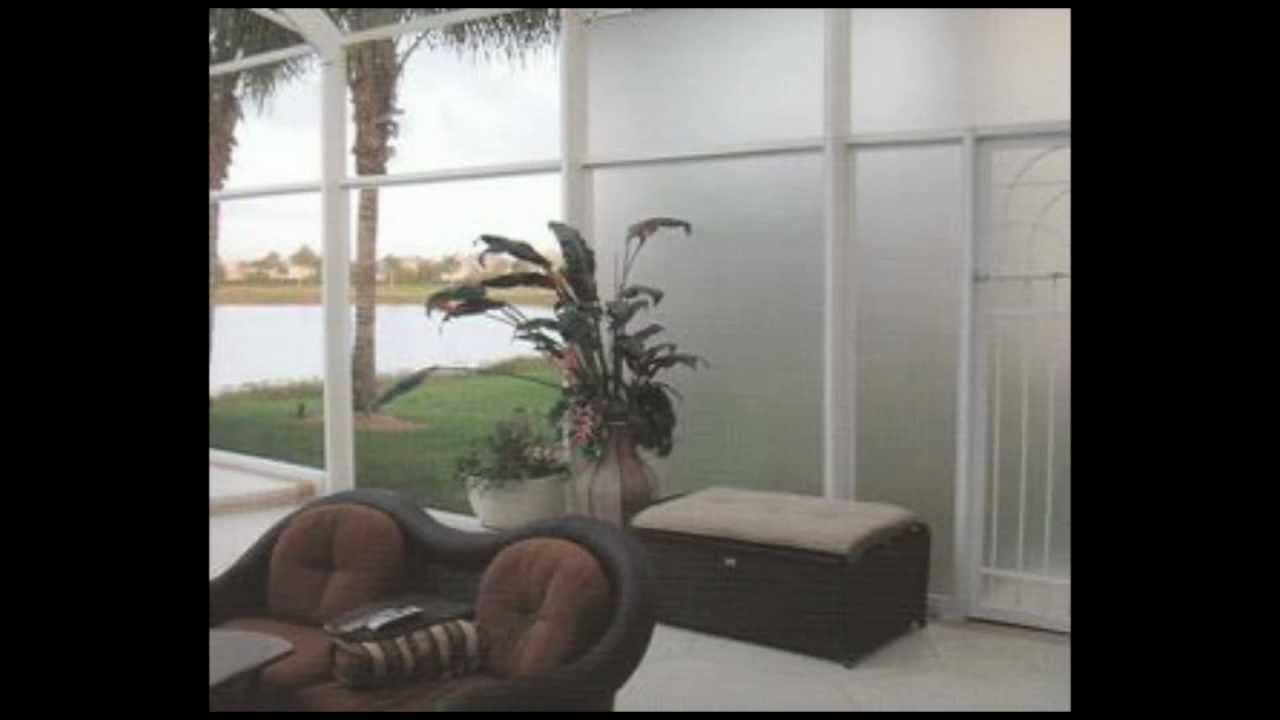 Florida Glass Screen Mesh - YouTube