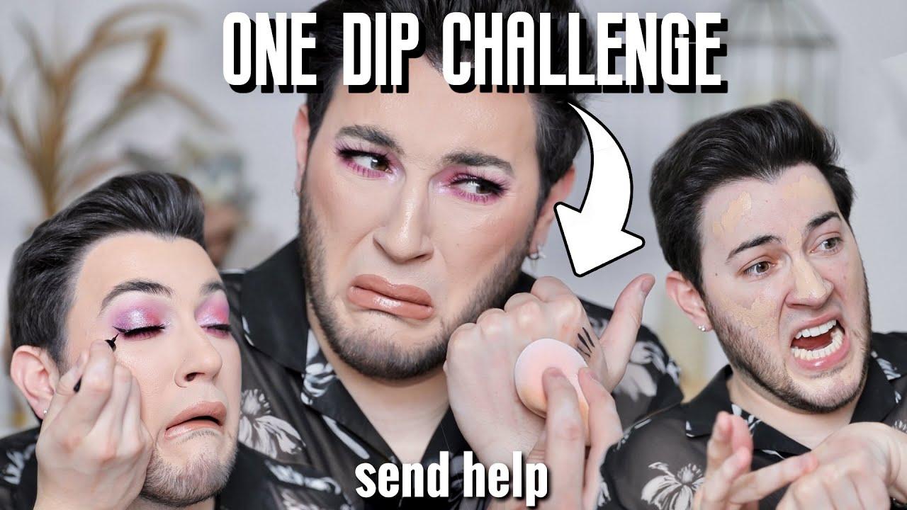 ONE DIP Makeup Challenge! HELP!