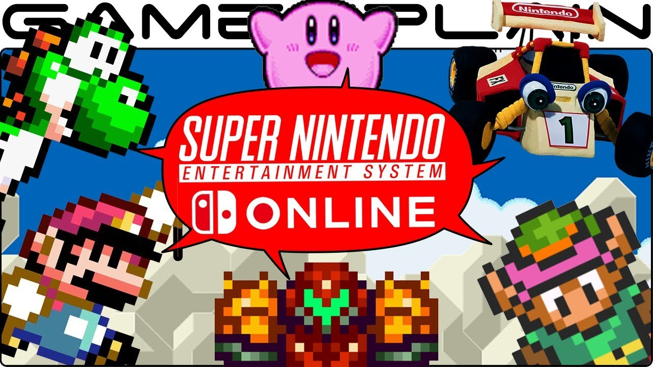 Nintendo Switch Online, found a list of all the SNES games