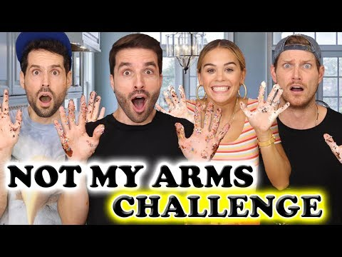 NOT MY ARMS CHALLENGE CARL IS COOKING - PO ET MARINA - HUBY