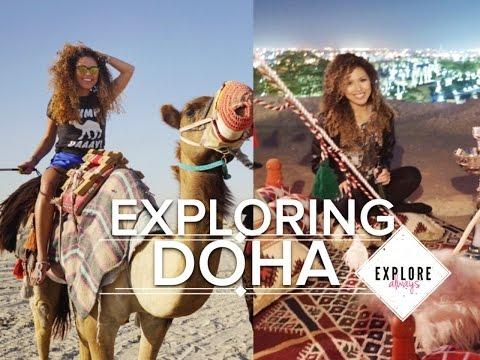 EXPLORING DOHA, QATAR | VLOG | oxSPiFFYxo