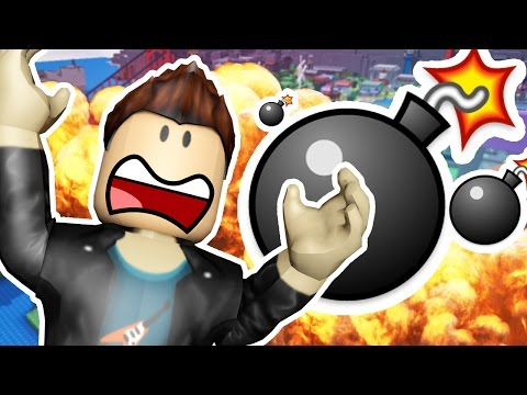 ROBLOX SUPER BOMB SURVIVAL - FIRING A NUKE IN ROBLOX