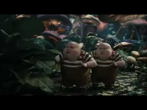 Alice in Wonderland Tweedledee Tweedledum FUNNY MOMENTS