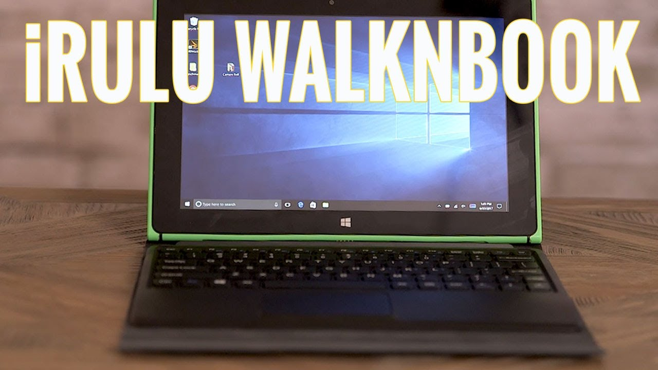 Préférence Buyer Beware: The iRulu WalknBook is a Bad 2-in-1 - YouTube TY52