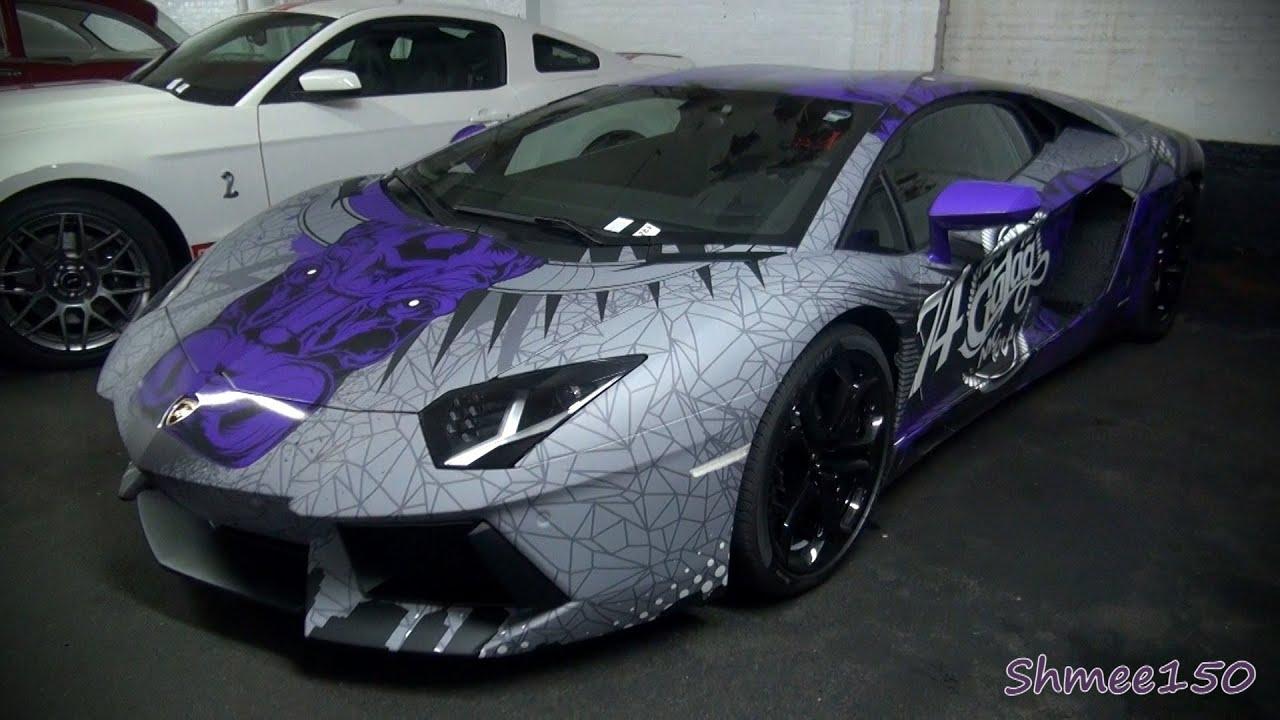 Gumball 3000 2012: Team Galag Lamborghini Aventador - YouTube