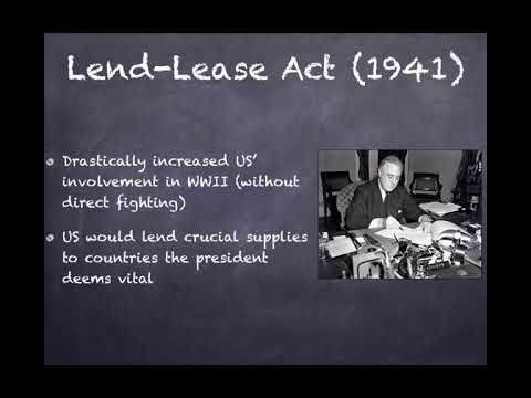 US Regents Review Video 41 US Transition To WWII
