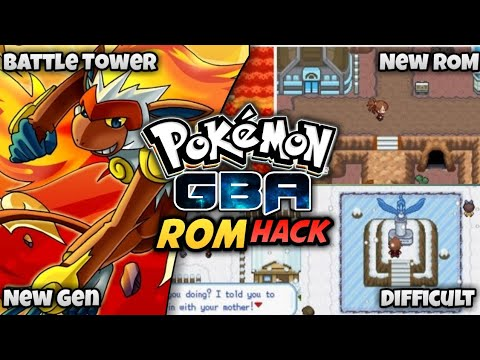 Pokemon GBA ROM Hack With New Region And New Hero (2019)