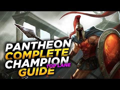 Pantheon: Spear of the Gods - League of Legends Champion Guide [SEASON 7]