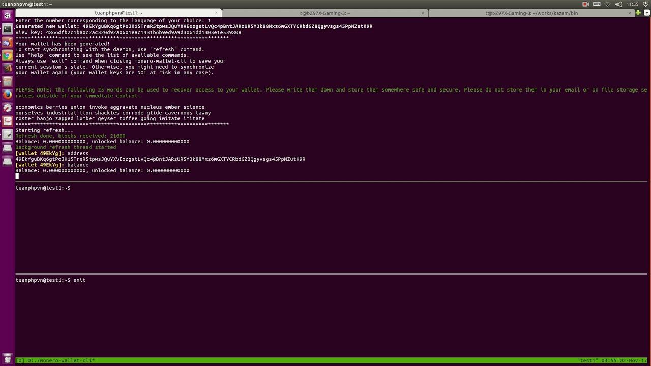 Get started Mining monero with Ubuntu server