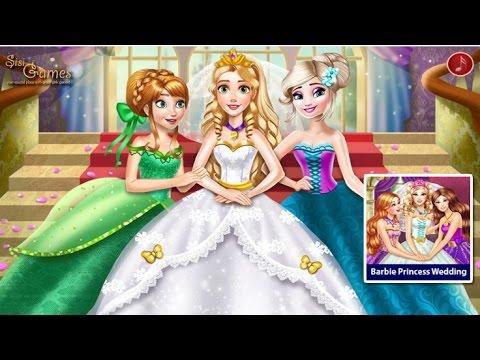 Disney Принцесса Игры—Рапунцель Невеста Эльза Анна—Мультик Онлайн Видео Игры Для Детей 2015