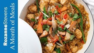 One Pot Curried Chicken and Rice