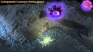 Path of Exile - Conqueror's Campaign Portal Effect