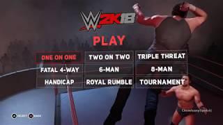 WWE 2K18 gameplay(PC)[HD]