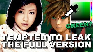 Utada on the New Song and Sora's Green Eyes?