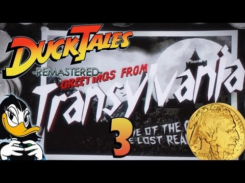 Let's Play Disney's DuckTales Remastered Part 3: Gruselathmosphäre in Transsilvanien