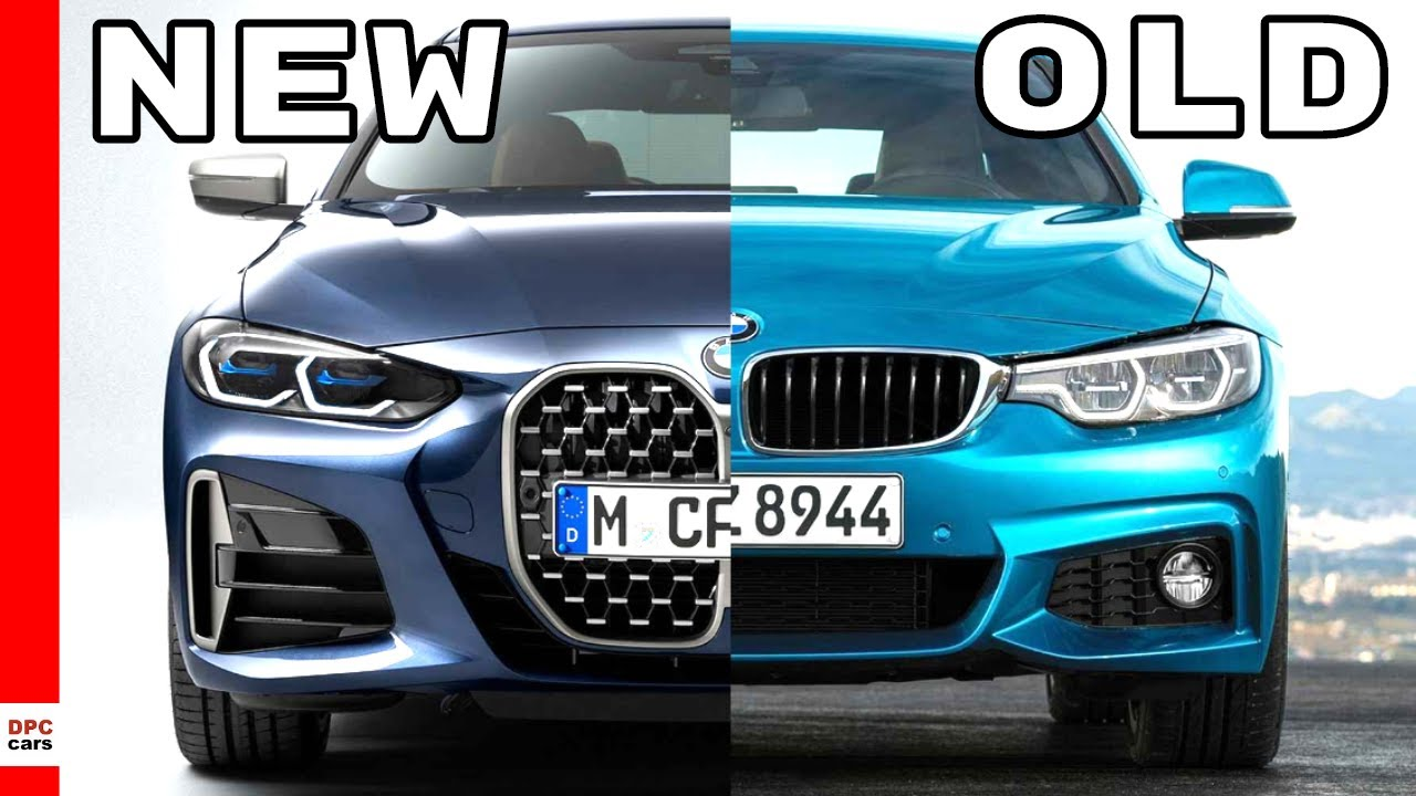 2021 BMW 4 Coupé vs staré BMW rad 4