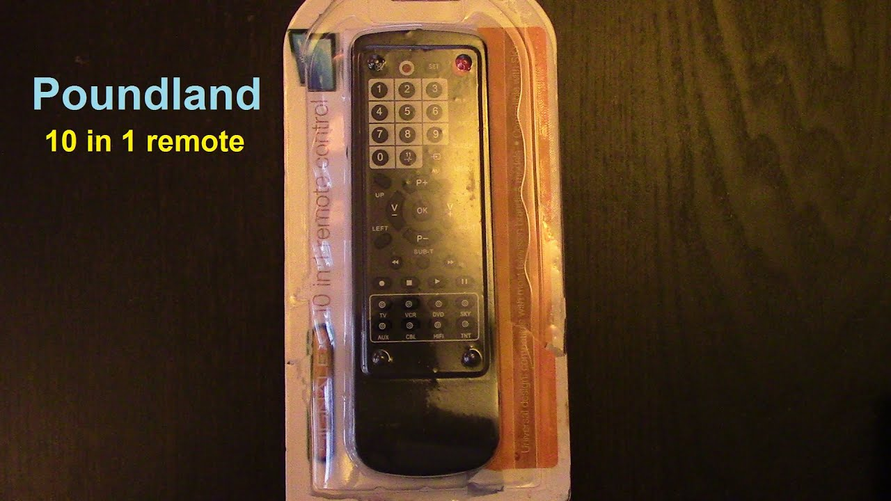 Poundland Remote Real Review Youtube