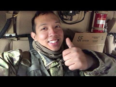 Field Training Layout, Inside An M-ATV, Main Exchange Shopping, & Army Experience! (Vlog #73)