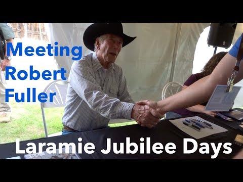 MEETING ROBERT FULLER   Laramie Jubilee Days Day 2 Vlog