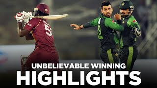 Unbelievable Winning | Full Match Highlights | West Indies vs Pakistan | 2nd T20I | MA2E